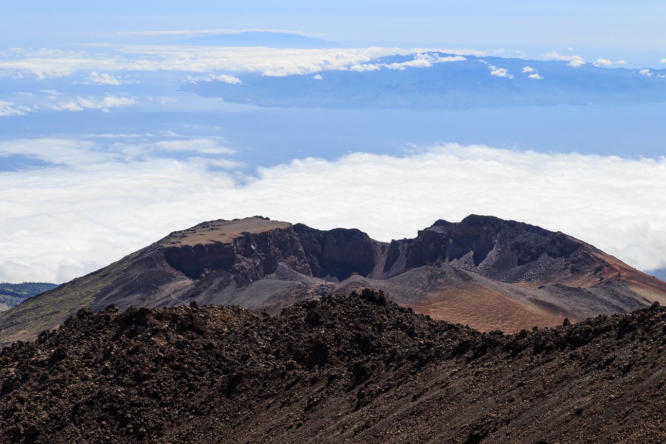 Vistas al Pico Viejo en el Teide