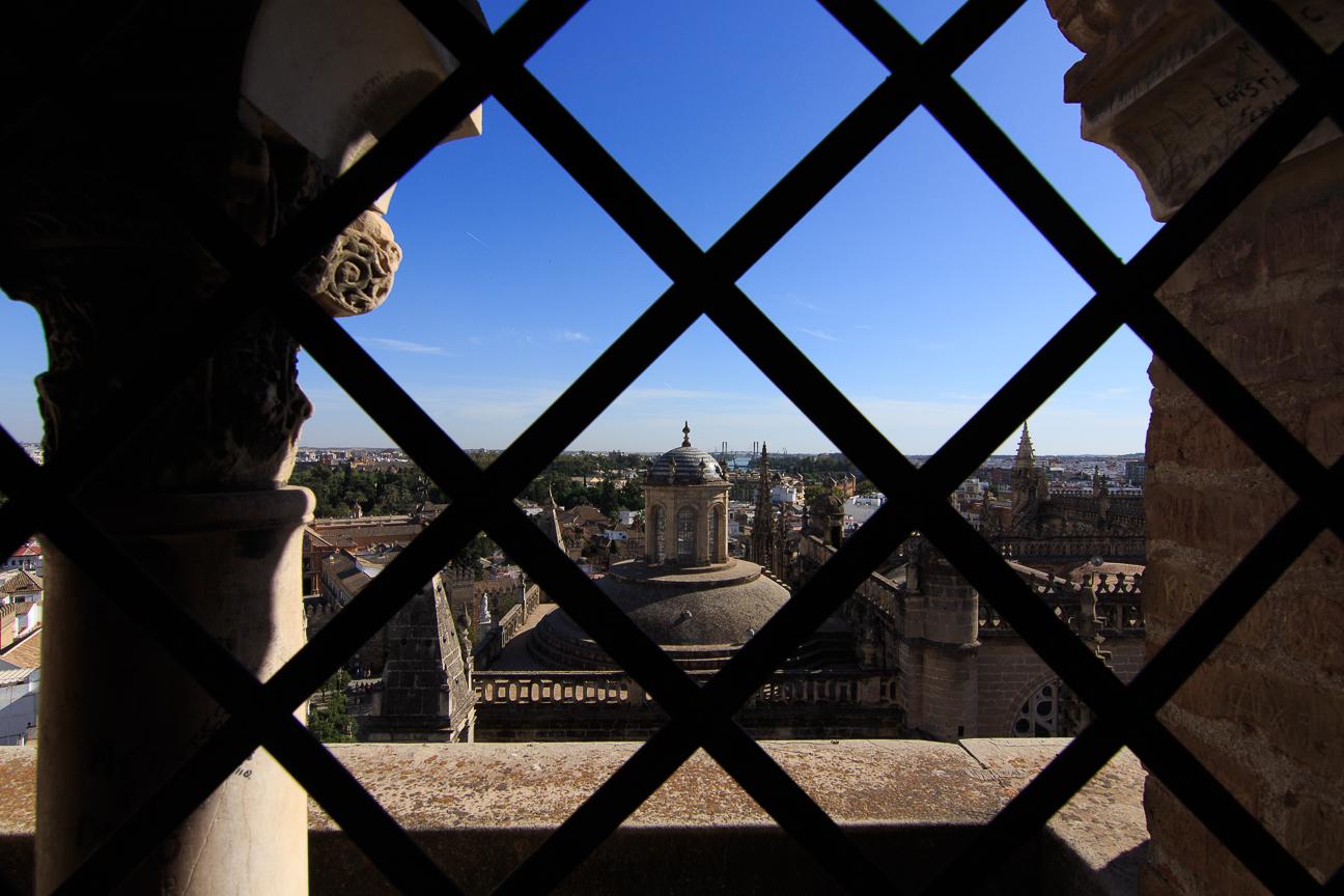 Vistas desde la Giralda en Sevilla