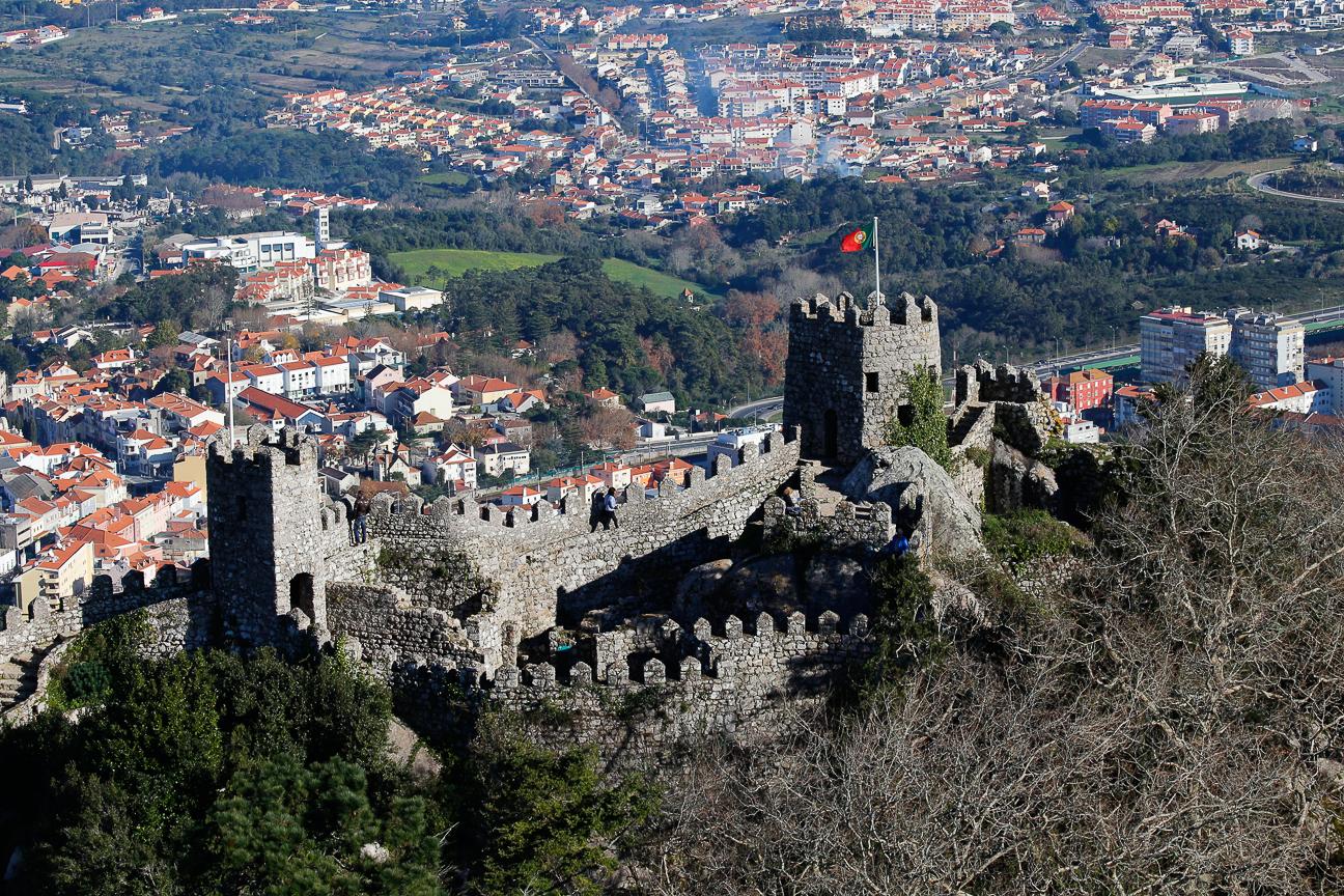 Vistas desde castillo dos Moros
