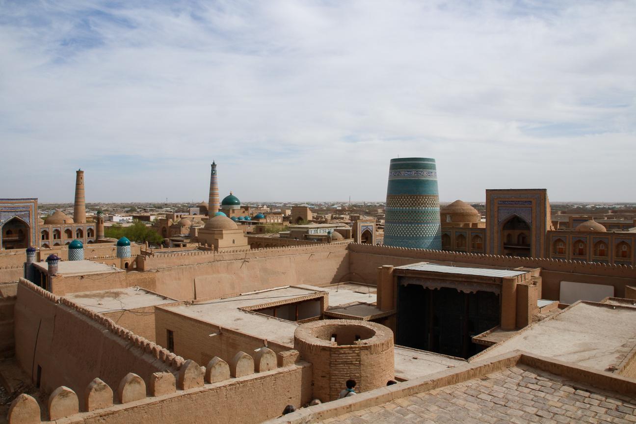 Vistas desde lo alto del Kunya Ark