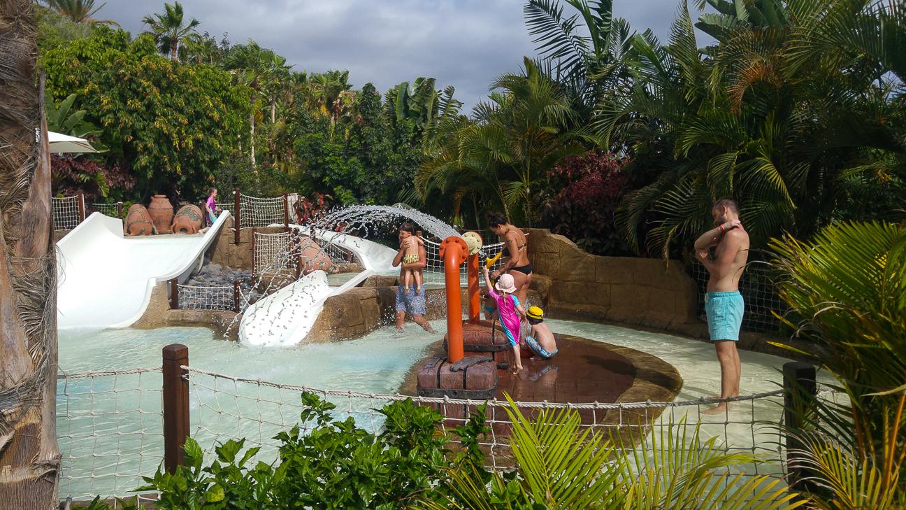 Zona infantil Siam Park