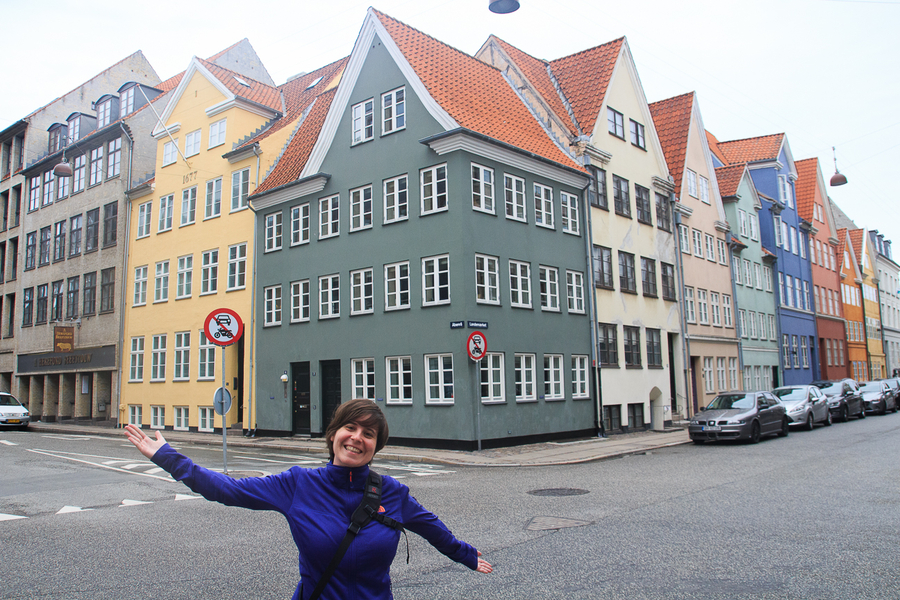 Que ver en Copenhague casas colores